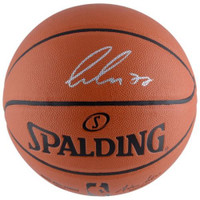 LUCA DONCIC Autographed Dallas Mavericks Spalding Basketball FANATICS