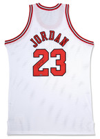 MICHAEL JORDAN Signed Bulls M&N Authentic Jersey  UDA