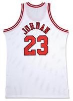 MICHAEL JORDAN Signed Bulls M&N Authentic Jersey  UDA