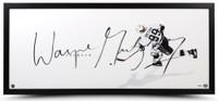 "Wayne Gretzky Signed ""The Show"" Framed Lithograph UDA"