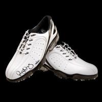 RORY McIlroy Hand Signed White FootJoy Golf Shoes UDA