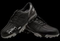 RORY McIlroy Hand Signed Black FootJoy Golf Shoes UDA