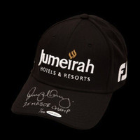 RORY McIlroy Autographed & Inscribed Jumeirah Titleist Black Hat UDA LE 100