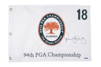 RORY McIlroy Hand Signed 2012 PGA Authentic Flag UDA