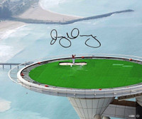 "RORY McIlroy Hand Signed 20 x 24 ""Top of the Tower"" Photograph UDA"