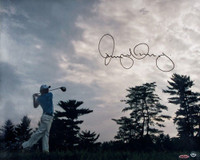 "RORY McIlroy Hand Signed 16 x 20 ""Into The Horizon"" Photograph UDA"