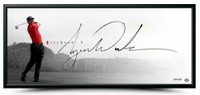 "TIGER WOODS Hand Signed ""The Show"" Framed 46 x 20 Photo UDA"