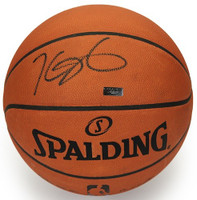 KEVIN DURANT Hand Signed Authentic Spalding Basketball PANINI