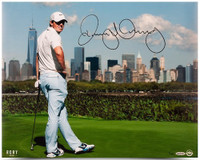 RORY McIlroy Hand Signed 16 x 20 NYC Photograph UDA LE 100