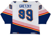 WAYNE GRETZKY Hand Signed Authentic St Louis Blues Jersey UDA