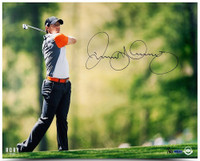"RORY McIlroy Hand Signed 16 x 20 ""Driven"" Photograph UDA LE 50"