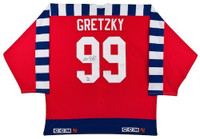 WAYNE GRETZKY Hand Signed 1992 All Star Jersey UDA LE 99