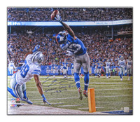 ODELL BECKHAM JR Signed & Inscribed Metallic Photo LE of 50.