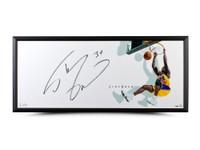 "SHAQUILLE O'NEAL AUTOGRAPHED ""THE SHOW"" 46 X 20 FRAMED"