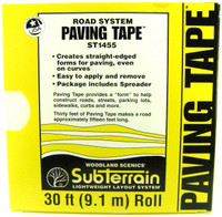 Woodland Scenics ST1455 PAVING TAPE Road System New bcg