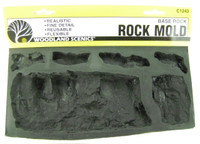 Woodland Scenics C1243 ROCK MOLD Rubber BASE ROCK bcg