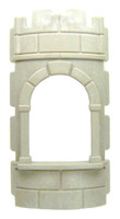 Playmobil 3666 Castle Parts Tower ROUND WALL WINDOW Kings Medieval Knights bcg