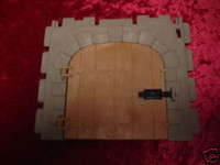 Playmobil 3666 Castle Parts House WALL BARN DOOR LARGE Kings Medieval Knights bcg
