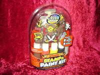 PIRATE STAMP & PAINT KIT Kids Crafts Pirates Horizon Group USA 17286 z