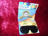 PIRATE PARTY GAME with Blindfold Pirates Favors New r