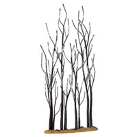 """Lemax 14614 11"""" STAND OF SYCAMORE TREES Christmas Village Landscape Scenery bcg"""