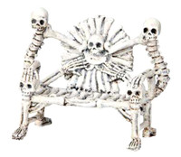 Lemax 04177 BONE BENCH Spooky Town Accessory Retired Halloween Decor bcg