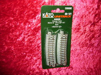 "Kato 20121 N UNITRACK CURVED TRACK R12-3/8"" 15 Degree z"