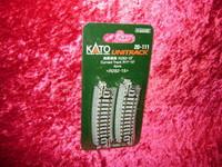 "Kato 20111 N UNITRACK CURVED TRACK R11"" 15 Degree 11"" Train New z"