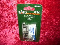 "Kato 20041 N UNITRACK FEEDER TRACK 2-7/16"" 62mm S62F z"
