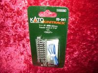 "Kato 20041 N UNITRACK FEEDER TRACK 2-7/16"" 62mm S62F z"