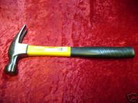 FRAMING HAMMER 16 oz Tool FIBREGLASS HANDLE Carpentry z