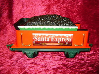 EZTEC TENDER CAR SANTA EXPRESS Christmas Train G New z