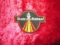 Buckaroo Banzai PATCH TEAM BANZAI Sci-Fi Cool Movie z