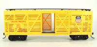 Bachmann HO STOCK CAR 40' UNION PACIFIC YELLOW UP Train 40 ft New z