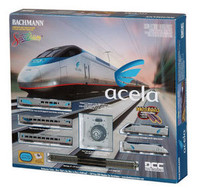 Bachmann 24130 N ACELA EXPRESS TRAIN SET DCC Amtrak z