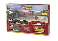 Bachmann 00692 HO PACIFIC FLYER Train Set EZ Track bcg