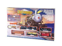 Bachmann 00626 HO CHATTANOOGA Train Set Steam E-Z New  z