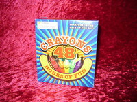 48 CRAYONS Coloring Kids Crafts Play Drawing New Box z