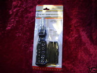 18 in 1 SCREWDRIVER TOOLS 12 Bits 5 Sockets in Handle r