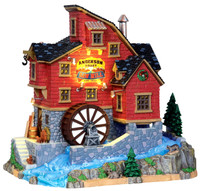 Lemax 15248 ANDERSON VALLEY MILL Vail Village Building Retired Christmas Decor bcg