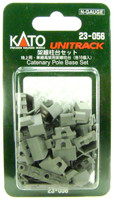 Kato 23056 N UNITRACK CATENARY POLE BASE SET Trains Train Track Accessory bcg