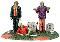 Lemax 53238 THE DEAD RETURN Spooky Town Table Accent Halloween Decor Piece bcg
