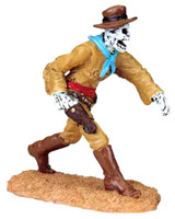Lemax 82475 SPOOKY GUNFIGHT Spooky Town Figurine Retired Halloween Decor West bcg