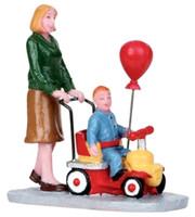 Lemax 12923 BALLOON BABY Figurine Christmas Village Carnival Figure Decor G Scale bcg