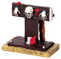 Lemax 92611 IN THE STOCKS Spooky Town Figurine Halloween Decor Village G Scale Figure bcg