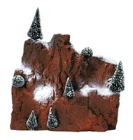 Lemax 81013 SMALL VILLAGE MOUNTAIN BACKDROP Christmas Landscape Accessory S O Scale bcg