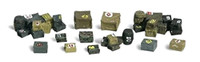 Woodland Scenics A2162 N ASSORTED CRATES Train Scenery Boxes Cargo bcg