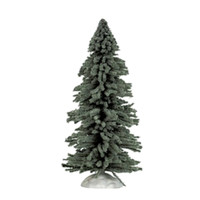 "Lemax 24733 SPRUCE TREE LARGE 9"" Retired Christmas Village Landscape Accessory S O G Scale bcg"