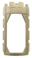 Playmobil 3666 Castle Parts Tower ROUND OPEN WALL FRAME Kings Medieval Knights bcg