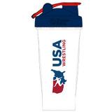 Nike USAWR Blender Bottle - Clear / Navy / Red